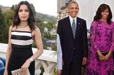 فریدا پنٹو امریکی خاتون اول مشعل اوباما کے ساتھ مل کر عالمی سطح پر لڑکیوں ..
