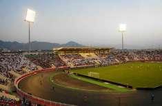 عمان میں فٹبال میچ کے دوران اسٹیڈیم اللہ اکبر کی آوازسے گونج اٹھا