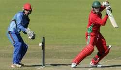 افغانستان ، زمبابوے کی ٹیمیں چوتھے ون ڈے میں آج مد مقابل ہو گی
