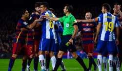 بارسلونا سٹرائیکرلوئیس سواریز پر 2 میچوں کی پابندی عائد
