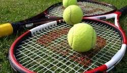 دوسری عالم الخیال جونیئر ٹینس چیمپئن شپ کے دوسرے روز سوئی گیس کے کھلاڑی ..
