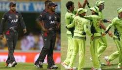 ایشیاء کپ ٹی 20 ، پاکستان اور یو اے ای کی ٹیمیں پیر کو آمنے سامنے ہوں ..