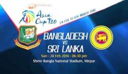 ایشیاء کپ ٹی ٹونٹی :پانچویں مقابلے میں بنگلہ دیش کا سری لنکا کو جیت ..