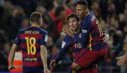 سپینش فٹبال لیگ ،بارسلونا نے 27سالہ پرانا ریکارڈ برابر کردیا