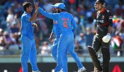 ایشیاء کپ ٹی ٹونٹی ، متحد ہ عرب امارات کا بھارت کو جیت کیلئے 82رنز کا ..