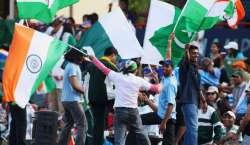 پاک بھارت میچ ' پاکستانی شائقین کی 17ہزار ویزہ درخواستوں میں صرف6سو ..