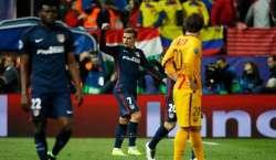 ایٹلیٹیکو میڈرڈ نے چیمپین بارسلونا کو چیمپینز لیگ سے باہر کردیا