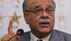 ویسٹ انڈیز کا دورہ پاکستان سانحہ گلشن اقبال پارک کے باعث منسوخ ہوا:نجم ..