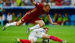 یو رو کپ 2016ء، انگلینڈ اور روس کا میچ ایک ایک گول سے برابر