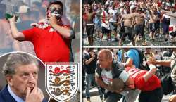 انگلش فٹبال ٹیم کے کپتان وین رونی، مینیجر روئے ہاجسن کی مداحوں سے پرامن ..