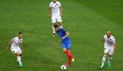 یوروکپ، فرانس البانیہ کو شکست دے کر ناک آوٹ مرحلے میں پہنچنے والی پہلی ..