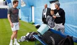 شہرہ آفاق فٹبالر ڈیوڈ بیکہم کا بیٹا ٹینس کا شوقین نکلا