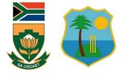 سہ ملکی سیریز ، 9واں اور آخری میچ ویسٹ انڈیز ، جنوبی افریقہ کے درمیان ..