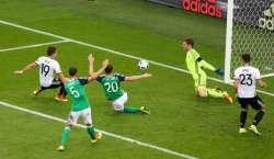 جرمنی  نے ناردن آئیرلینڈ کو شکست دے کر ناک آوٹ مرحلے کیلئے کوالی فائی ..