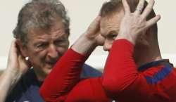 یورو کپ میں مینیجر رائے ہاجسن کے فیصلے کا احترام کیا جائے ، وین رونی