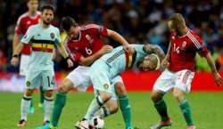 یورو 2016 فٹ بال، ناک آوٴٹ مرحلے میں بلجیم نے ہنگری کو شکست دیدی