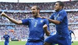 یورو کپ 2016 کے ناک آوٴٹ مرحلے میں اٹلی نے دفاعی چمپئن سپین کو ٹائٹل کی ..
