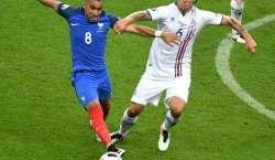 فرانس نے آئس لینڈ کو شکست دے کر یورو کپ کے سیمی فائنل میں جگہ بنا لی