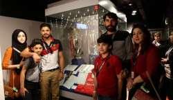 پاکستان کرکٹ ٹیم کا انگلش فٹبال کلب مانچسٹر یونائیٹڈ کا دورہ