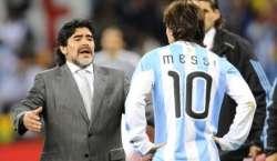 اٹالین فٹ بال کوچ اریگو سیچی نے ڈیاگو میراڈونا کو لیونل میسی سے بہتر ..