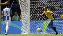 ریواولمپکس ، سٹار فٹبالر نیمار کا تیز ترین گول، برازیل فائنل میں پہنچ ..