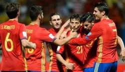 ورلڈ کپ فٹ بال کوالیفائنگ میں اسپین کی بڑی فتح،ویلز بھی کامیاب