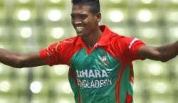 انگلینڈ سے ون ڈے سیریز،بنگلہ دیشی ٹیم میں الامین حسین کی واپسی