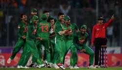 دوسرا ون ڈے ، بنگلہ دیش نے انگلینڈ کو 34رنز سے شکست دے دی