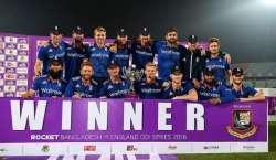 انگلینڈ نے بنگلہ دیش کو فیصلہ کن ون ڈے میں 4وکٹوں سے شکست دیر سیریز2-1سے ..