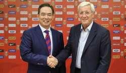 سابق اٹالین فٹ بالر مرسیلو لیپی چینی فٹ بال ٹیم کے نئے مینجر مقرر ہو ..