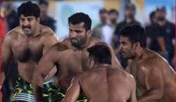 چیف آف دی ائیر سٹاف نیشنل کبڈی چیمپین شپ کا فائنل دفاعی چیمپئن پاکستان ..