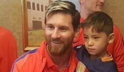 لیونل میسی کے سب سے مداح 6 سالہ افغان بچے کی خواہش بالآخر پوری ہوگئی