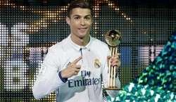 ریال میڈرڈ نے سال کی بہترین فٹبال کلب کا ایوارڈ جیت لیا،کرسٹیانو رونالڈو ..