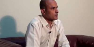 بھارت کلبھوشن یادیو کی رہائی کے مطالبے سے دستبردار