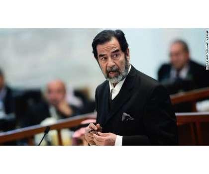 صدام حسین کا مقبرہ تباہ' قبر سے میت غائب