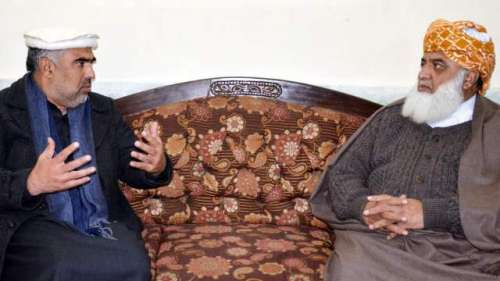 مولانا فضل الرحمان سے سپیکر ..