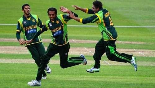 پاکستان انڈر 19 کرکٹ ٹیم کی سہ ..