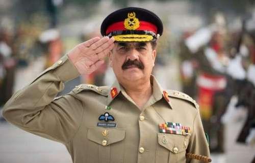 اسلام آباد : آرمی چیف جنرل راحیل ..
