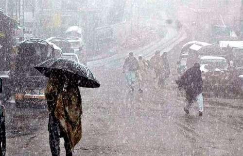 محکمہ موسمیات کی اسلام آباد،خیبرپختونخوا ..
