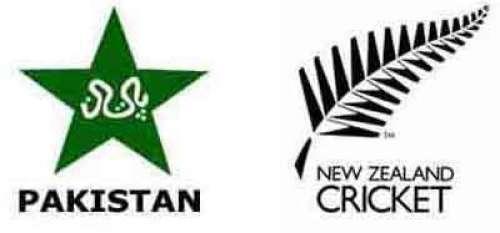 پاکستان اورنیوزی لینڈکی ٹیموں ..
