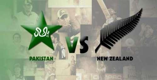 پاکستان ، نیوزی لینڈ ٹیموں کے ..