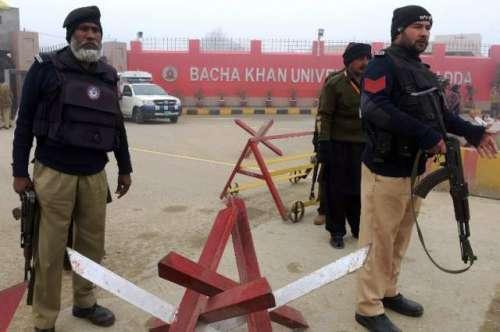 باچا خان یونیورسٹی چارسدہ پر ..