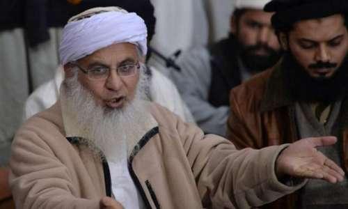اسلام آباد : مولانا عبد العزیز ..