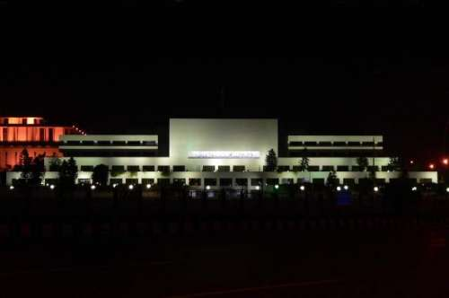 پارلیمنٹ ہاؤس میں فائر الارم ..