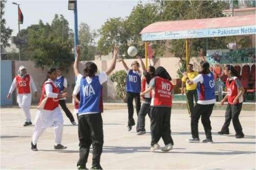 15 ویں قومی ویمن نیٹ بال چیمپئن ..