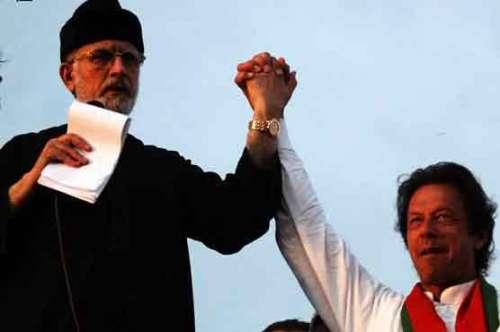 عمران خان اور طاہرالقادری سمیت ..