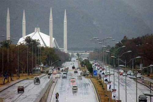 راولپنڈی ، اسلام آباد میں بارش ..