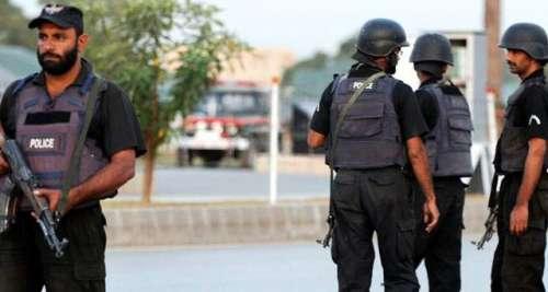 اسلام آباد کے تھانہ آئی 9 پر ..