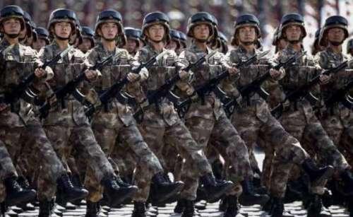 چینی فوجی کنٹرول لائن پر بنیادی ..