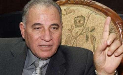 مصر کے وزیر انصاف احمد الزند ..